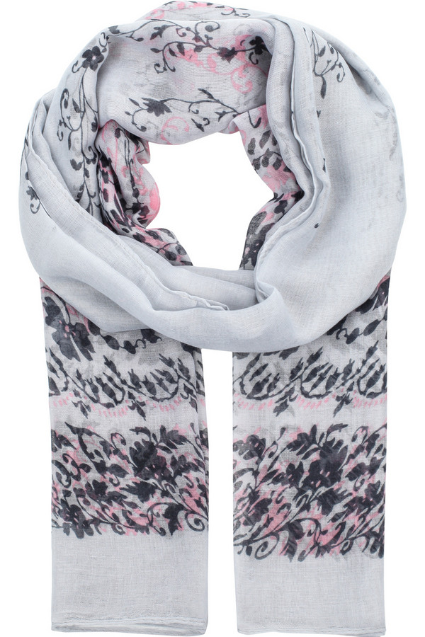 Шарф FINN FLAREШарфы<br>Легкий весенний шарф, выполненный в контрастных цветах – жемчужном, розовом и темно-синим. Такая модель станет прекрасным дополнением к пальто или курткам. Материал, использованный в производстве, износостоек и практичен.<br><br>Размер RU: один размер<br>Пол: Женский<br>Возраст: Взрослый<br>Материал: вискоза 100%<br>Цвет: Разноцветный