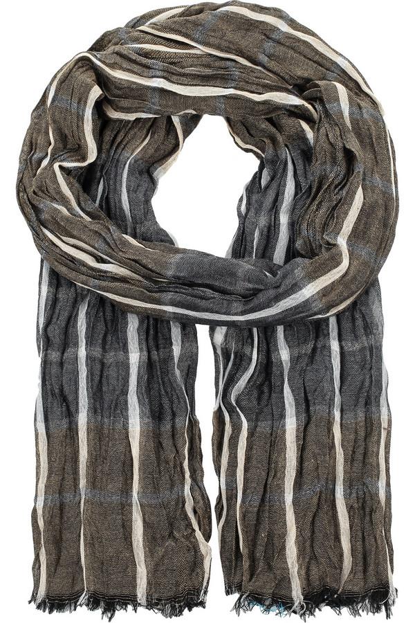 Шарф FINN FLAREШарфы<br>Лёгкий весенний шарф, выполненный в приятном сочетании коричневого, джинсового и белого цветов, в клетку, с бахромой на концах изделия. Такая модель станет прекрасным дополнением к пальто или курткам. Материал, использованный в производстве, износостоек и практичен.<br><br>Размер RU: один размер<br>Пол: Мужской<br>Возраст: Взрослый<br>Материал: вискоза 100%<br>Цвет: Бежевый