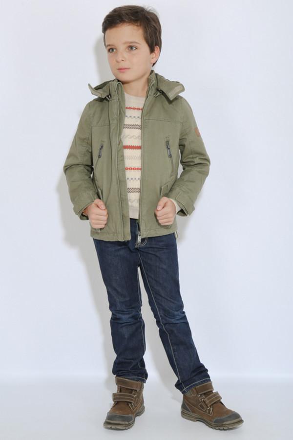 Куртка FINN FLAREКуртки<br><br><br>Размер RU: 38<br>Пол: Мужской<br>Возраст: Детский<br>Материал: хлопок 100%<br>Цвет: Коричневый