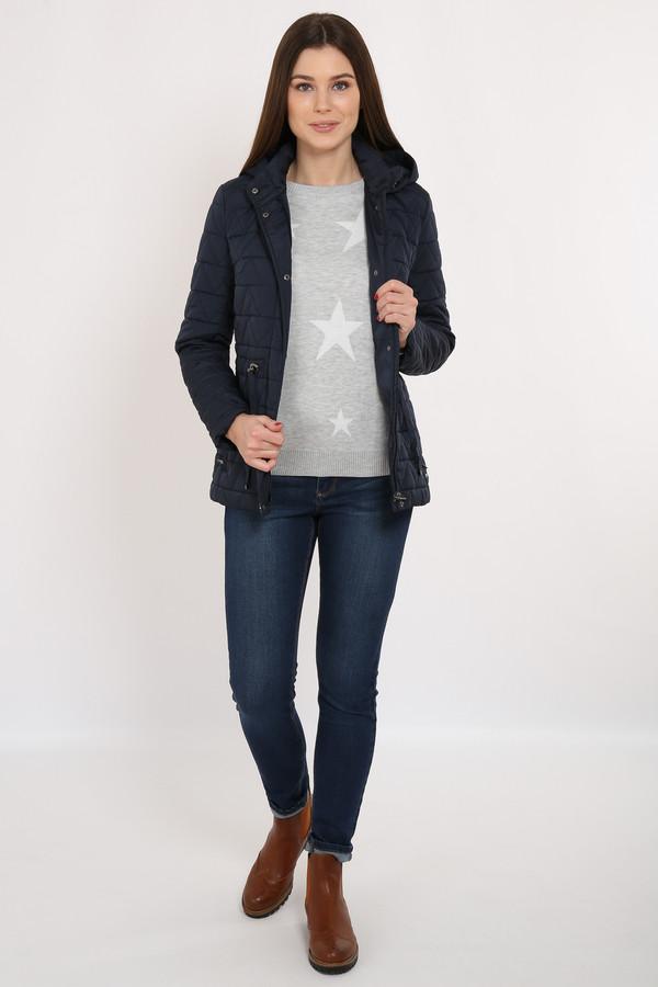Куртка FINN FLAREКуртки<br>Приталенная стёганая куртка – необходимый вариант демисезонной верхней одежды. Модель оснащена съёмным капюшоном. По талии идет утяжка шнурками, что позволит сделать ваш силуэт еще более привлекательным. Куртка застёгивается на молнию и планку с пуговицами-кнопками. Подкладка и утеплитель выполнены из полиэстера, известного своими влагоотводящими качествами.<br><br>Размер RU: 44<br>Пол: Женский<br>Возраст: Взрослый<br>Материал: полиэстер 100%<br>Цвет: Синий