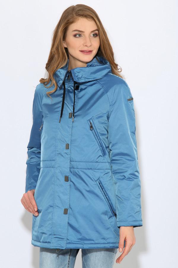 Куртка FINN FLAREКуртки<br>Симпатичная и практичная куртка с аккуратным несъемным капюшоном с утяжками – лучший выбор для непостоянной весенней погоды. Модель прямого кроя и застегивается на молнию и пуговицы-кнопки. По бокам имеется по 2 симметрично расположенных кармана, тоже на молнии. Утеплитель и подкладка из полиэстера, известного своими влагоотводящими качествами.<br><br>Размер RU: 42<br>Пол: Женский<br>Возраст: Взрослый<br>Материал: полиэстер 100%<br>Цвет: Голубой