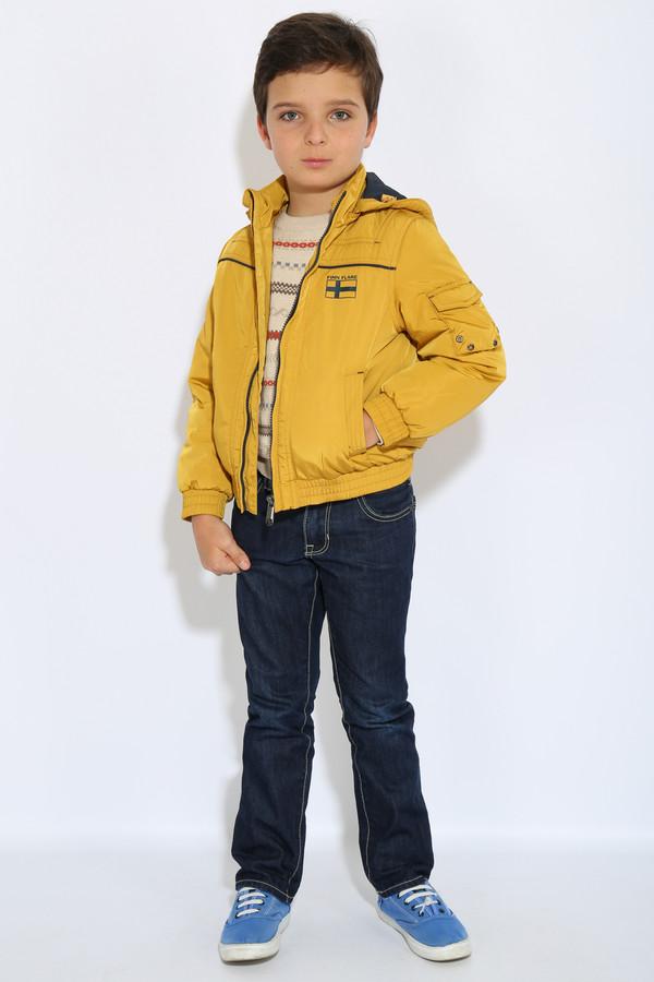 Куртка FINN FLAREКуртки<br><br><br>Размер RU: 34;134<br>Пол: Мужской<br>Возраст: Детский<br>Материал: полиэстер 100%<br>Цвет: Жёлтый