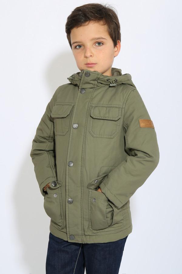Куртка FINN FLAREКуртки<br><br><br>Размер RU: 34;134<br>Пол: Мужской<br>Возраст: Детский<br>Материал: хлопок 100%<br>Цвет: Зелёный