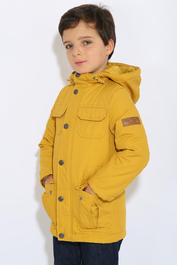 Куртка FINN FLAREКуртки<br><br><br>Размер RU: 38<br>Пол: Мужской<br>Возраст: Детский<br>Материал: хлопок 100%<br>Цвет: Жёлтый