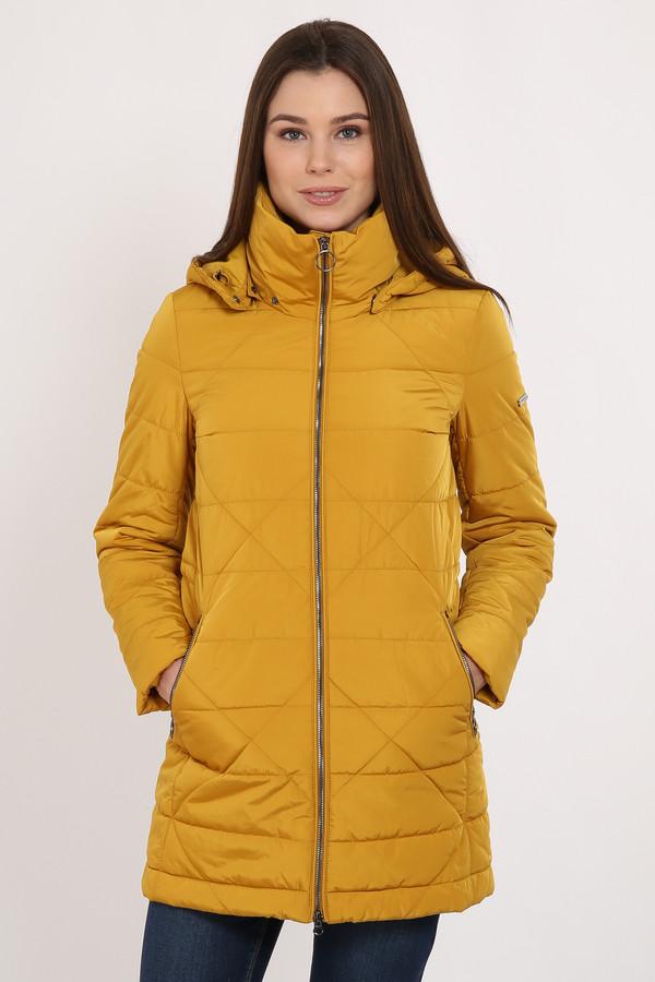 Пальто FINN FLAREПальто<br>Практичное стеганое полупальто – нужный вариант верхней одежды для весны. Модель длины до колена, застегивается на молнию. По бокам симметрично расположены карманы, тоже на молнии. Модель имеет съемный капюшон. Высокий ворот комфортный и теплый. Утеплитель и подкладка из полиэстера, известного своими влагоотводящими качествами.<br><br>Размер RU: 44<br>Пол: Женский<br>Возраст: Взрослый<br>Материал: полиэстер 100%<br>Цвет: Жёлтый