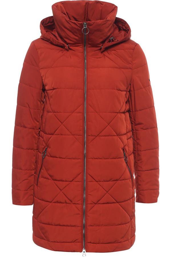 Пальто FINN FLAREПальто<br>Практичное стеганое полупальто – нужный вариант верхней одежды для весны. Модель длины до колена, застегивается на молнию. По бокам симметрично расположены карманы, тоже на молнии. Модель имеет съемный капюшон. Высокий ворот комфортный и теплый. Утеплитель и подкладка из полиэстера, известного своими влагоотводящими качествами.<br><br>Размер RU: 44<br>Пол: Женский<br>Возраст: Взрослый<br>Материал: полиэстер 100%<br>Цвет: Красный