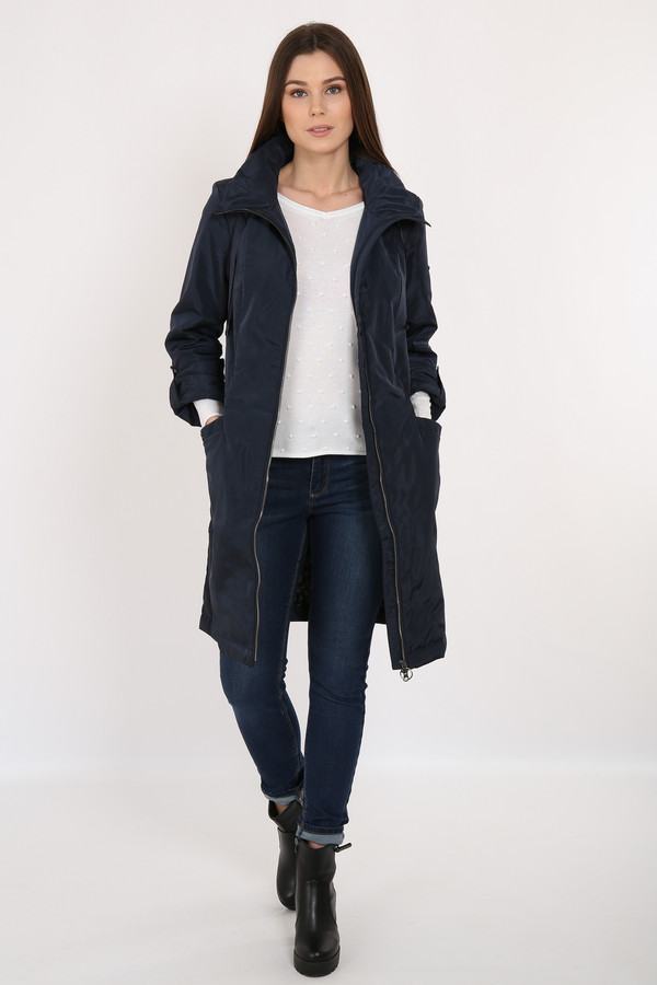 Пальто FINN FLAREПальто<br><br><br>Размер RU: 54<br>Пол: Женский<br>Возраст: Взрослый<br>Материал: полиэстер 100%<br>Цвет: Синий