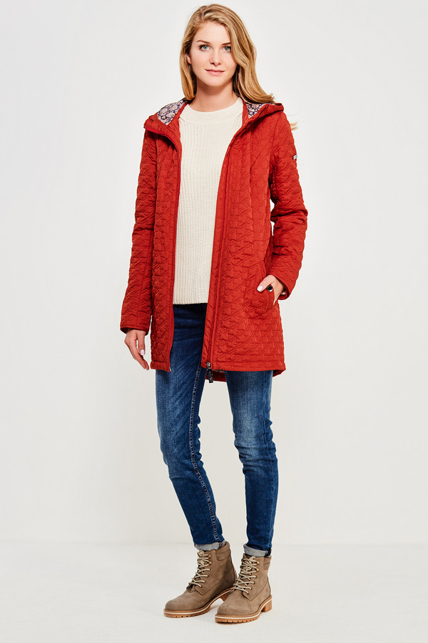 Куртка FINN FLAREКуртки<br><br><br>Размер RU: 46<br>Пол: Женский<br>Возраст: Взрослый<br>Материал: полиэстер 100%<br>Цвет: Красный