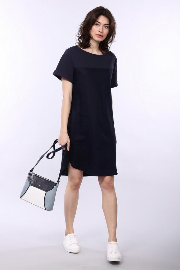Платье OuiПлатья<br><br><br>Размер RU: 50<br>Пол: Женский<br>Возраст: Взрослый<br>Материал: лен 100%<br>Цвет: Синий