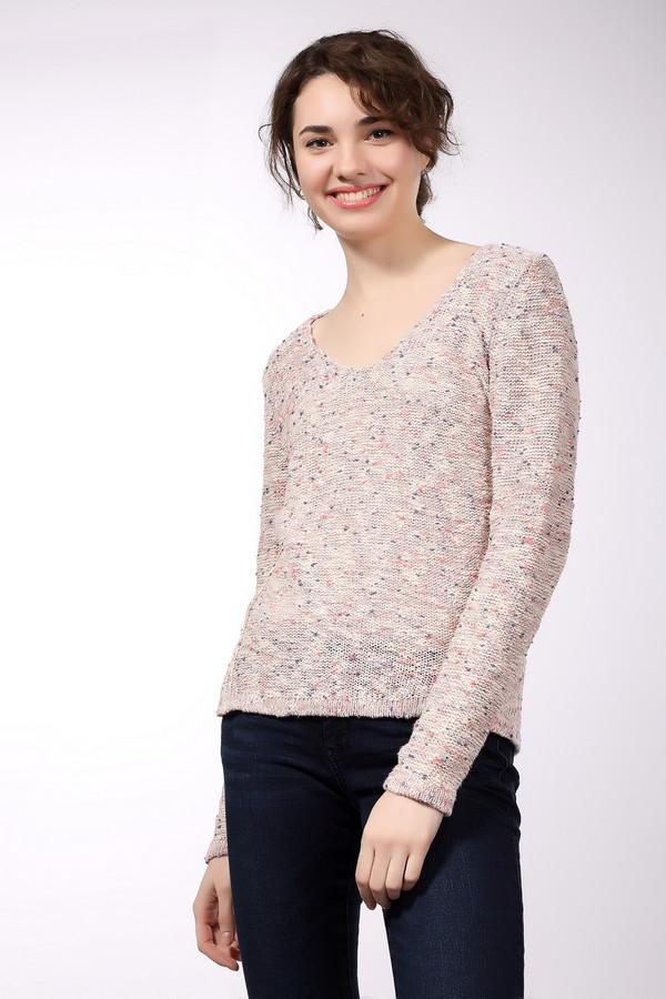 Пуловер s.OliverПуловеры<br><br><br>Размер RU: 50<br>Пол: Женский<br>Возраст: Взрослый<br>Материал: хлопок 92%, полиэстер 8%<br>Цвет: Разноцветный