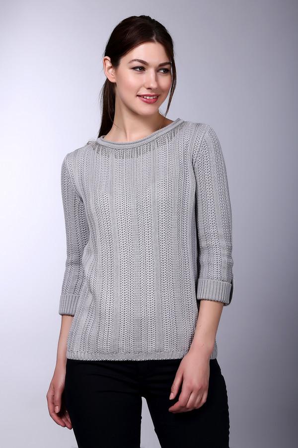 Пуловер Betty BarclayПуловеры<br><br><br>Размер RU: 46<br>Пол: Женский<br>Возраст: Взрослый<br>Материал: хлопок 50%, полиакрил 50%<br>Цвет: Серый