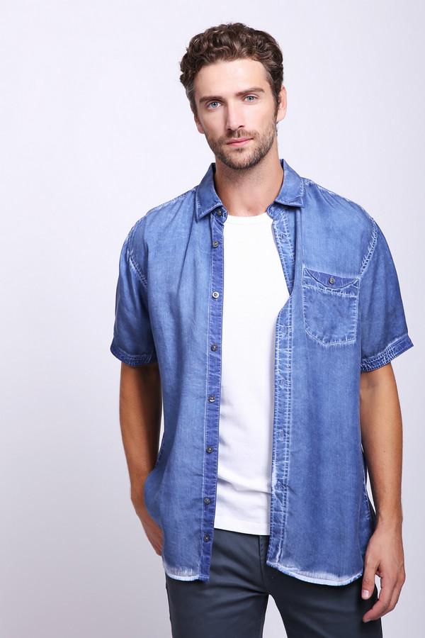 Мужские рубашки с коротким рукавом Monte CarloКороткий рукав<br>