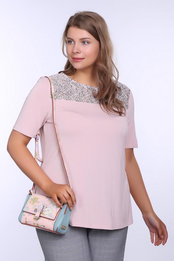 женская футболка с коротким рукавом betty barclay, розовая