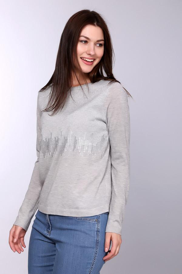 Пуловер Betty BarclayПуловеры<br><br><br>Размер RU: 46<br>Пол: Женский<br>Возраст: Взрослый<br>Материал: полиамид 20%, полиэстер 56%, полиакрил 24%<br>Цвет: Серый