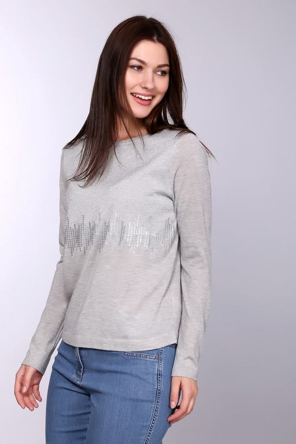 Купить Пуловер Betty Barclay, Китай, Серый, полиамид 20%, полиэстер 56%, полиакрил 24%
