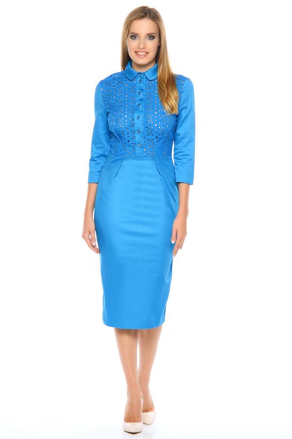 Платье XARIZMASПлатья<br><br><br>Размер RU: 48<br>Пол: Женский<br>Возраст: Взрослый<br>Материал: хлопок 95%, эластан 5%<br>Цвет: Голубой