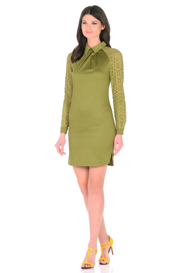 Платье XARIZMASПлатья<br><br><br>Размер RU: 44<br>Пол: Женский<br>Возраст: Взрослый<br>Материал: хлопок 95%, эластан 5%<br>Цвет: Зелёный