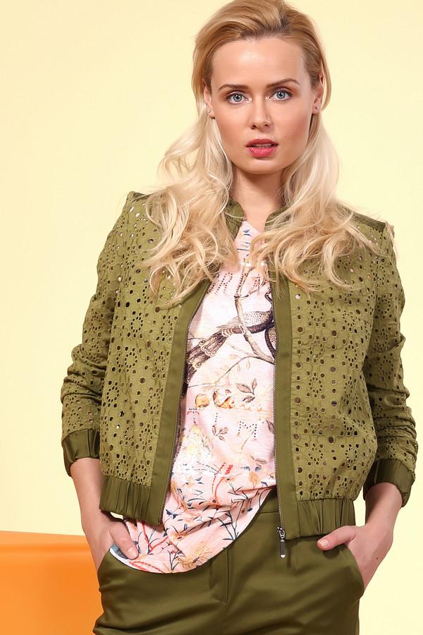 Куртка XARIZMASКуртки<br><br><br>Размер RU: 40<br>Пол: Женский<br>Возраст: Взрослый<br>Материал: хлопок 95%, эластан 5%<br>Цвет: Зелёный