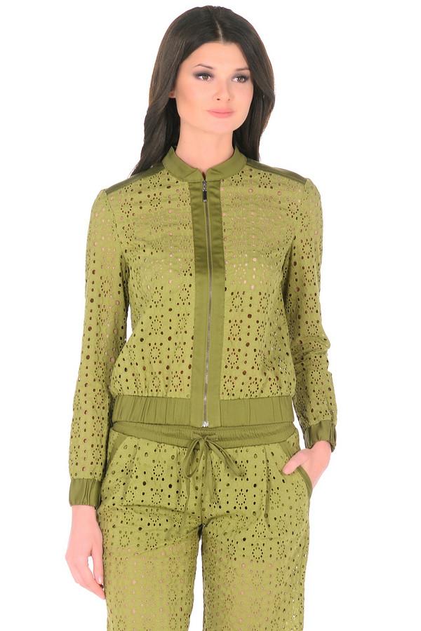 Куртка XARIZMASКуртки<br><br><br>Размер RU: 50<br>Пол: Женский<br>Возраст: Взрослый<br>Материал: хлопок 95%, эластан 5%<br>Цвет: Зелёный