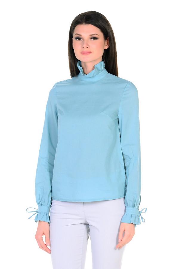 Блузa XARIZMASБлузы<br><br><br>Размер RU: 46<br>Пол: Женский<br>Возраст: Взрослый<br>Материал: хлопок 100%<br>Цвет: Голубой