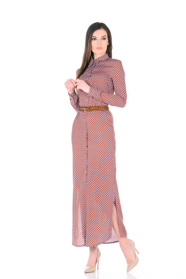 Платье XARIZMASПлатья<br><br><br>Размер RU: 40<br>Пол: Женский<br>Возраст: Взрослый<br>Материал: вискоза 100%<br>Цвет: Розовый