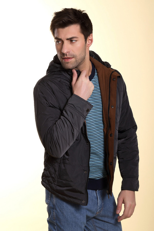 Куртка MiltonКуртки<br><br><br>Размер RU: 50<br>Пол: Мужской<br>Возраст: Взрослый<br>Материал: полиэстер 100%<br>Цвет: Серый