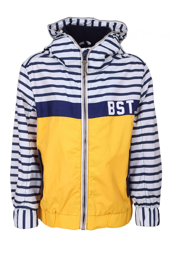 Куртка Tom TailorКуртки<br><br><br>Размер RU: 28;104-110<br>Пол: Мужской<br>Возраст: Детский<br>Материал: см. на вшивном ярлыке 0%<br>Цвет: Разноцветный