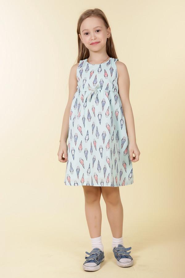 Платье Tom TailorПлатья<br><br><br>Размер RU: 26;92-98<br>Пол: Женский<br>Возраст: Детский<br>Материал: см. на вшивном ярлыке 0%<br>Цвет: Голубой