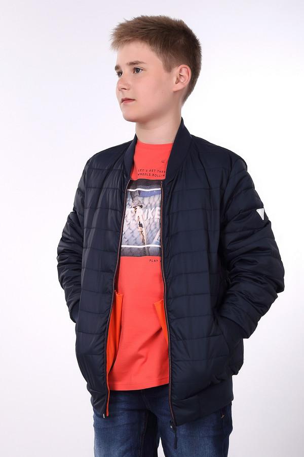 Куртка Tom TailorКуртки<br><br><br>Размер RU: 44;164<br>Пол: Мужской<br>Возраст: Детский<br>Материал: см. на вшивном ярлыке 0%<br>Цвет: Синий