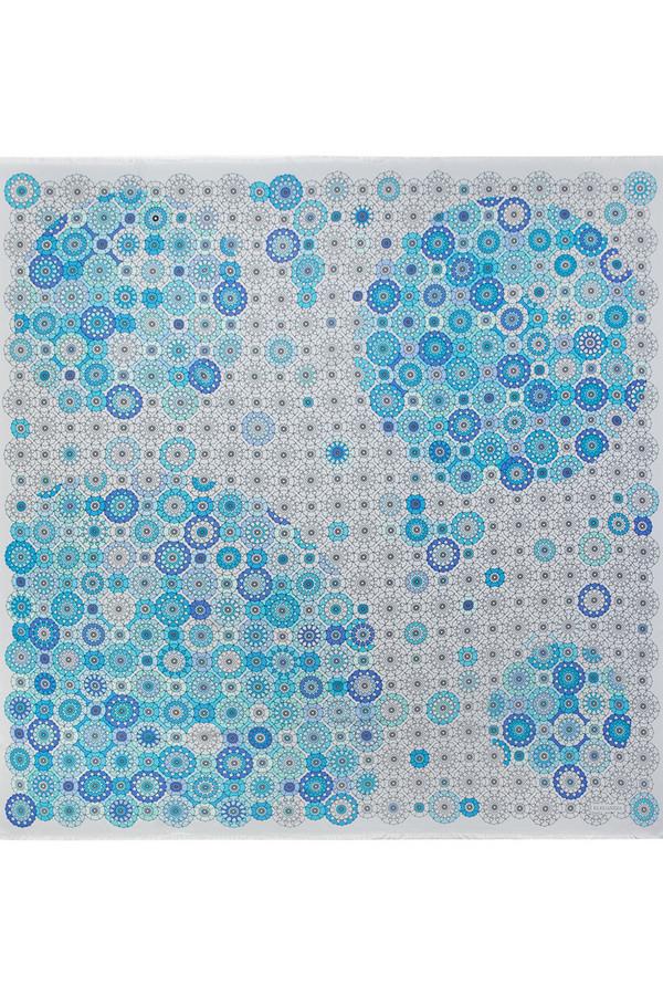 Платок ELEGANZZAПлатки и Палантины<br><br><br>Размер RU: один размер<br>Пол: Женский<br>Возраст: Взрослый<br>Материал: вискоза 70%, шелк 30%<br>Цвет: Разноцветный