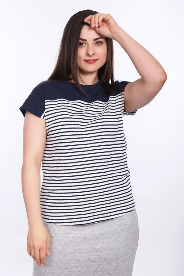 женская футболка lerros, белая