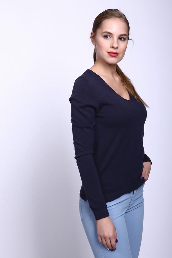 Пуловер s.OliverПуловеры<br><br><br>Размер RU: 48<br>Пол: Женский<br>Возраст: Взрослый<br>Материал: вискоза 60%, хлопок 40%<br>Цвет: Синий