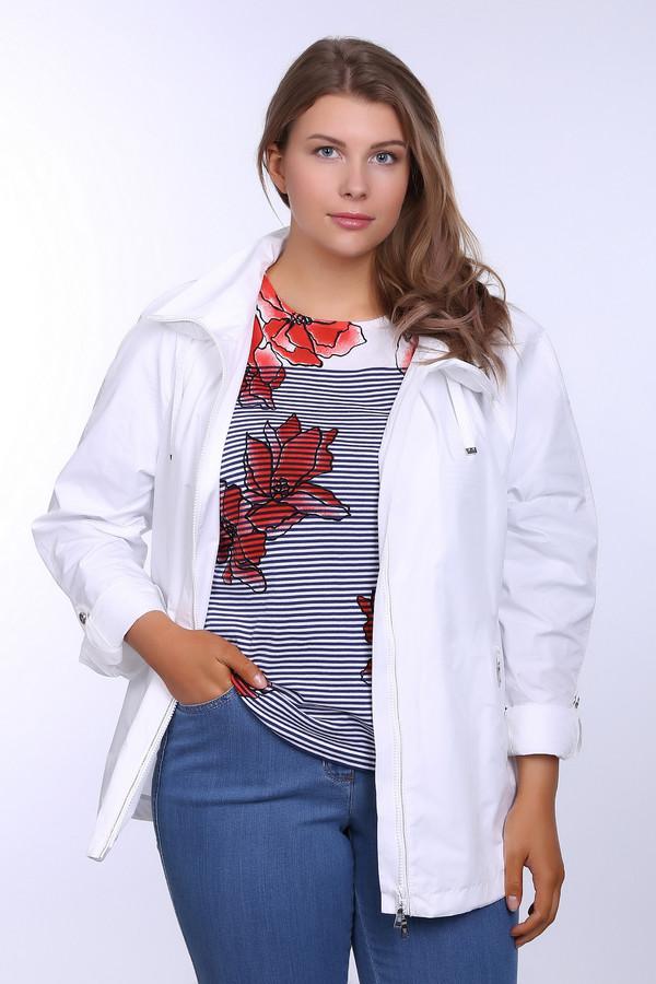 Куртка BaslerКуртки<br><br><br>Размер RU: 50<br>Пол: Женский<br>Возраст: Взрослый<br>Материал: полиэстер 100%, Состав_подкладка ацетат 100%<br>Цвет: Белый