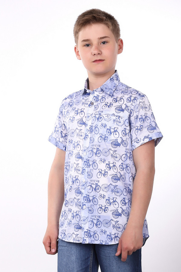 Рубашка SarabandaРубашки<br><br><br>Размер RU: 40;152<br>Пол: Мужской<br>Возраст: Детский<br>Материал: см. на вшивном ярлыке 0%<br>Цвет: Разноцветный