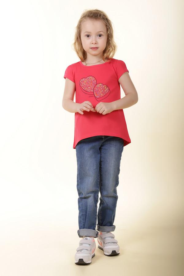 Футболки и поло s.OliverФутболки и поло<br><br><br>Размер RU: 30;116-122<br>Пол: Женский<br>Возраст: Детский<br>Материал: хлопок 100%<br>Цвет: Красный