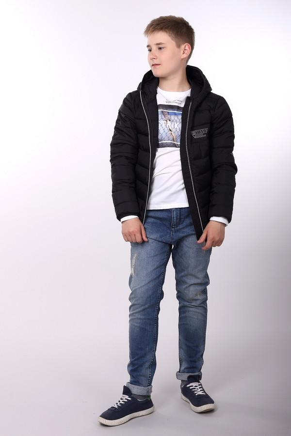 Куртка s.OliverКуртки<br><br><br>Размер RU: 44;164<br>Пол: Мужской<br>Возраст: Детский<br>Материал: полиэстер 100%, Состав_подкладка полиэстер 100%<br>Цвет: Чёрный