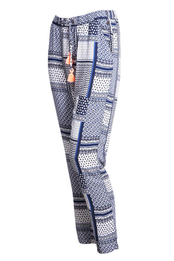 брюки tom tailor для девочки, голубые