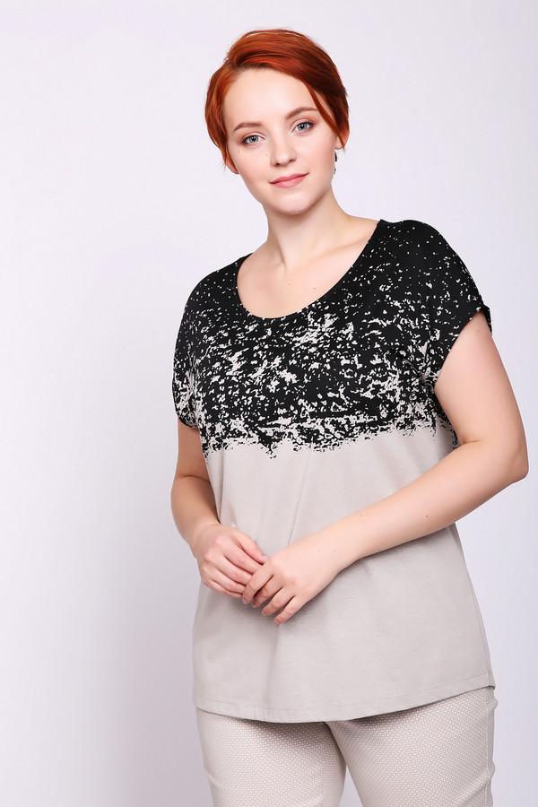 женская футболка с коротким рукавом via appia, разноцветная