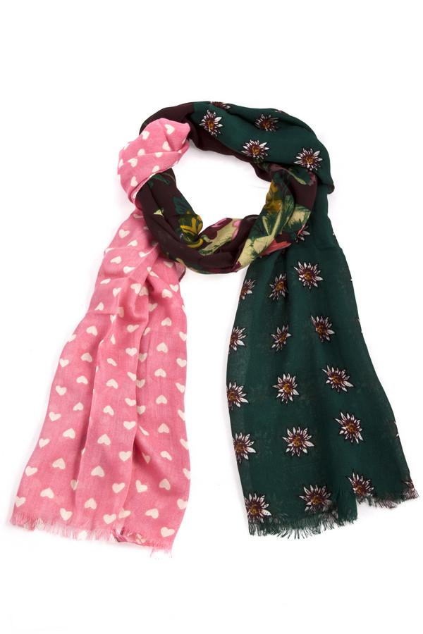 Шарф CodelloШарфы<br>Оригинальный шарф Codello декорирован несколькими актуальными принтами. Изделие дополнено небольшой бахромой на концах.<br><br>Размер RU: один размер<br>Пол: Женский<br>Возраст: Взрослый<br>Материал: вискоза 100%<br>Цвет: Разноцветный