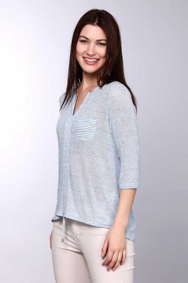 Пуловер LecomteПуловеры<br><br><br>Размер RU: 46<br>Пол: Женский<br>Возраст: Взрослый<br>Материал: эластан 4%, вискоза 48%, лен 48%<br>Цвет: Голубой