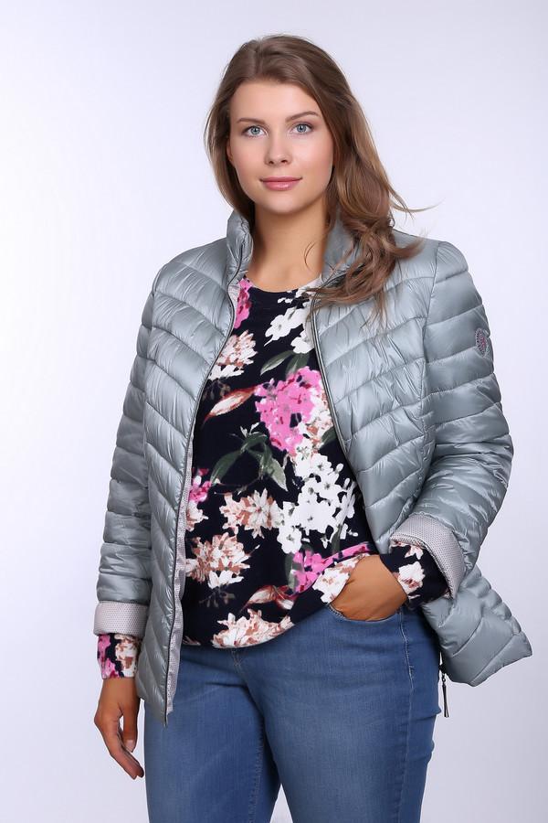 Куртка LebekКуртки<br><br><br>Размер RU: 54<br>Пол: Женский<br>Возраст: Взрослый<br>Материал: полиамид 100%, Состав_подкладка полиэстер 100%<br>Цвет: Серый