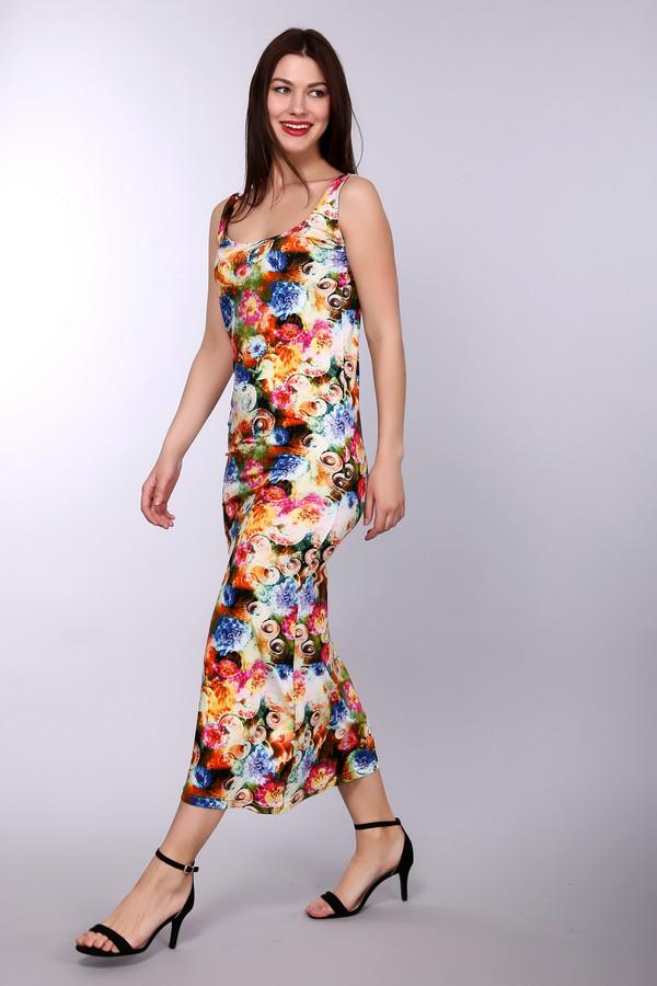 Платье PezzoПлатья<br><br><br>Размер RU: 50<br>Пол: Женский<br>Возраст: Взрослый<br>Материал: эластан 5%, вискоза 95%<br>Цвет: Разноцветный