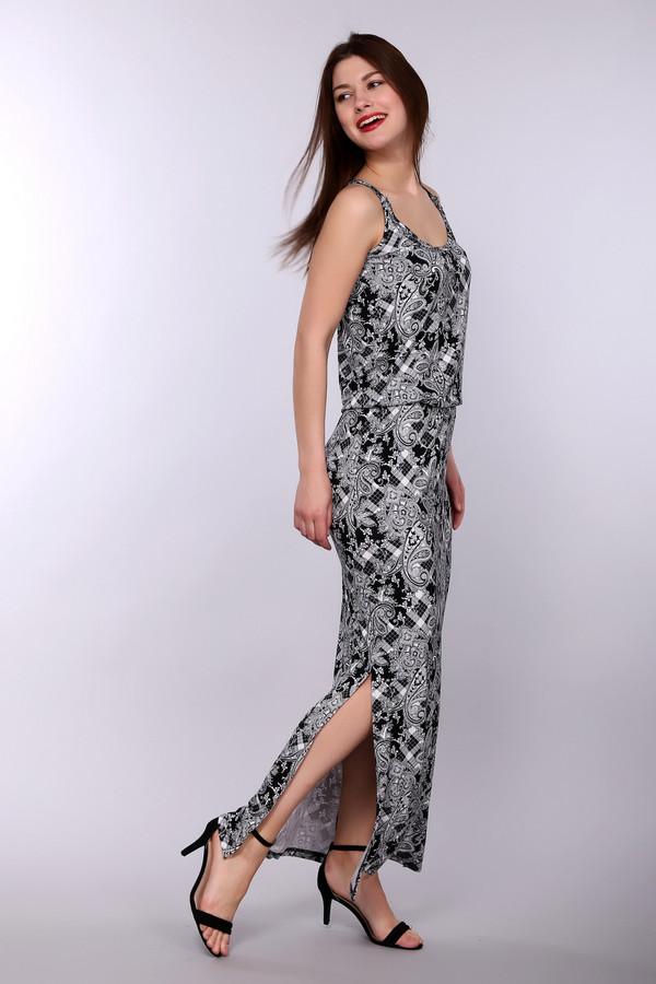 Купить Платье Just Valeri, Китай, Белый, эластан 8%, вискоза 92%