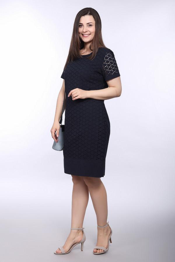 Платье Betty BarclayПлатья<br><br><br>Размер RU: 48<br>Пол: Женский<br>Возраст: Взрослый<br>Материал: хлопок 100%<br>Цвет: Синий