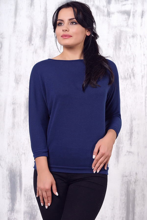 Блузa VAYБлузы<br><br><br>Размер RU: 52<br>Пол: Женский<br>Возраст: Взрослый<br>Материал: эластан 5%, вискоза 95%<br>Цвет: Синий