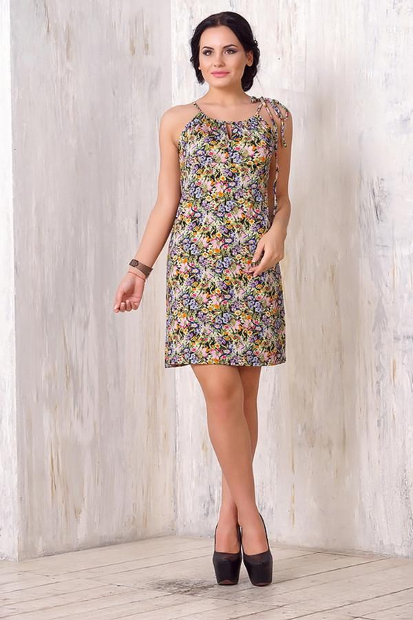 Платье VAYПлатья<br><br><br>Размер RU: 42<br>Пол: Женский<br>Возраст: Взрослый<br>Материал: эластан 5%, вискоза 95%<br>Цвет: Разноцветный