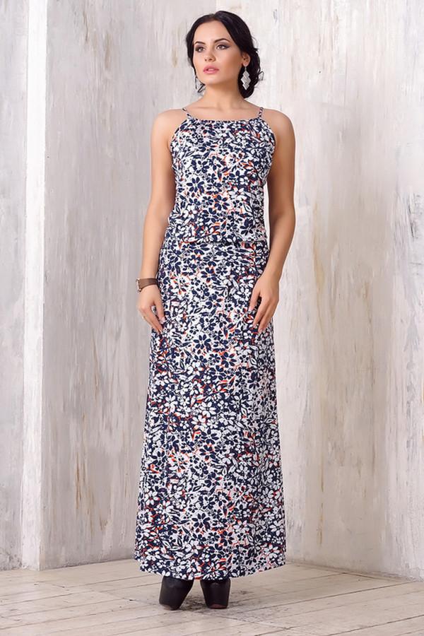 Платье VAYПлатья<br><br><br>Размер RU: 52<br>Пол: Женский<br>Возраст: Взрослый<br>Материал: эластан 5%, вискоза 95%<br>Цвет: Разноцветный