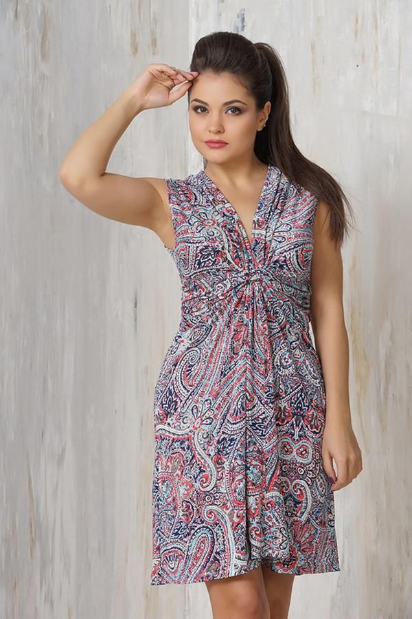 Платье VAYПлатья<br><br><br>Размер RU: 42<br>Пол: Женский<br>Возраст: Взрослый<br>Материал: эластан 5%, микро фибре 95%<br>Цвет: Разноцветный