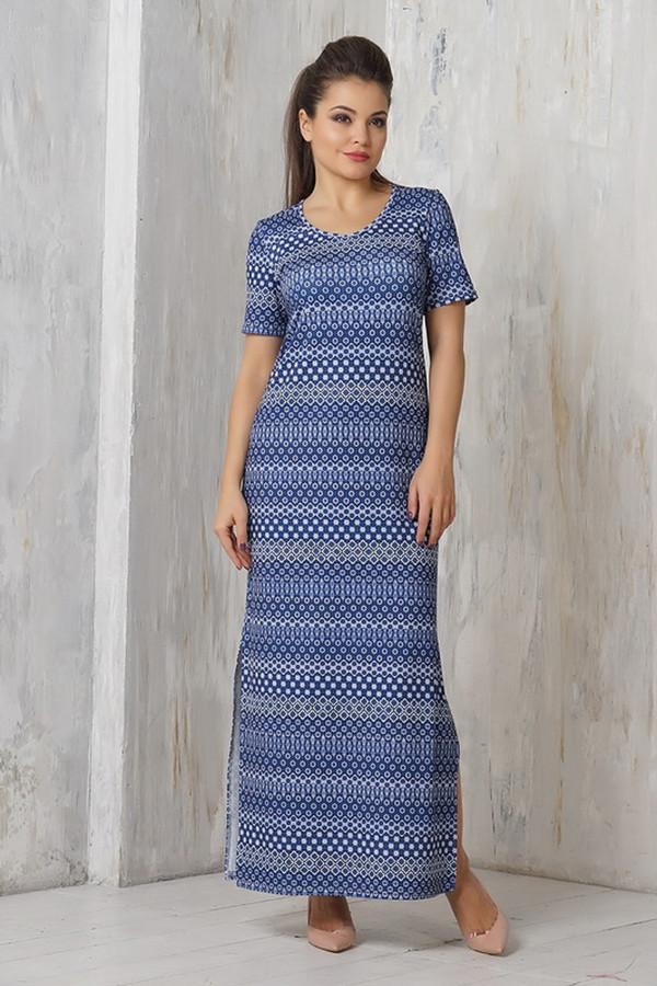 Платье VAYПлатья<br><br><br>Размер RU: 54<br>Пол: Женский<br>Возраст: Взрослый<br>Материал: эластан 5%, микро фибре 95%<br>Цвет: Синий