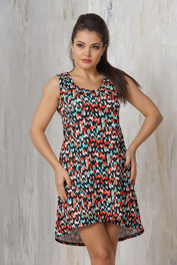 Платье VAYПлатья<br><br><br>Размер RU: 48<br>Пол: Женский<br>Возраст: Взрослый<br>Материал: эластан 5%, микро фибре 95%<br>Цвет: Разноцветный